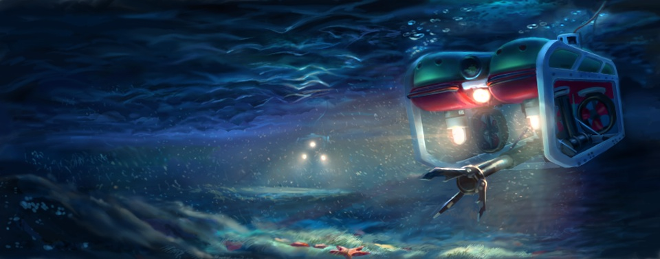 ROVsim2 Pro Professional grade undersea ROV training system.