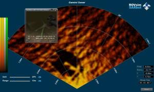 Custom Search and Rescue ROV Simulator