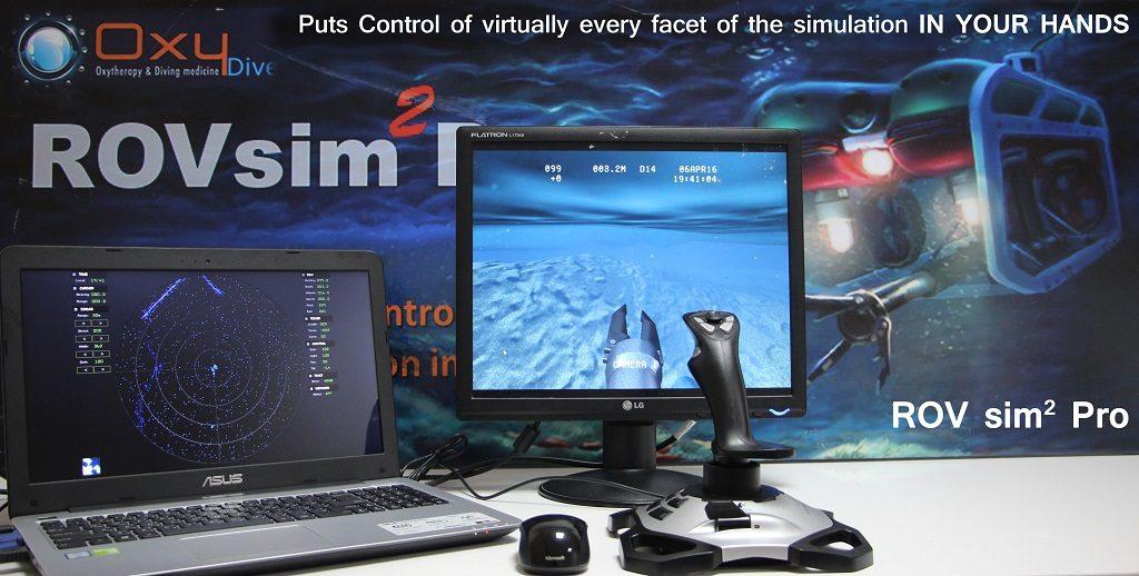 ROVsim2 Pro at Oxy-Dive Egypt