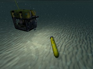 Lost AUV Search Mission