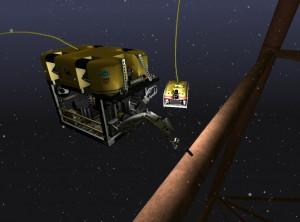 Oil Platform Inspection Mission
