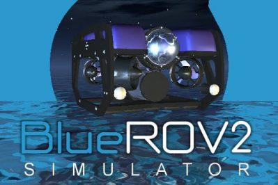 3-ROVsim2 BlueROV2 – Mini ROV demonstration tool
